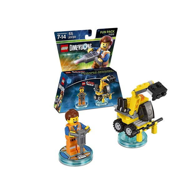 LEGO Dimensions Emmet Fun Pack 71212
