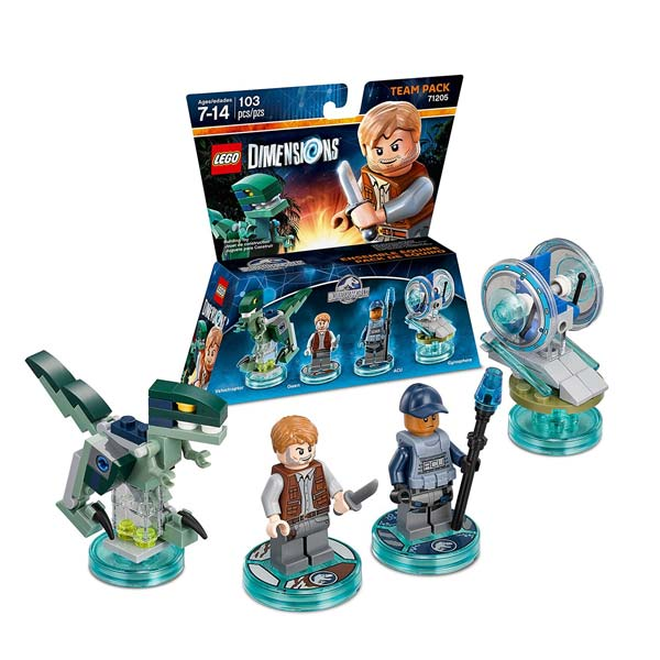 LEGO Dimensions Jurassic World Team Pack 71205