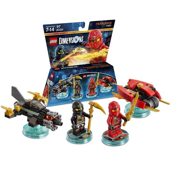 LEGO Dimensions Ninjago Team Pack 71207