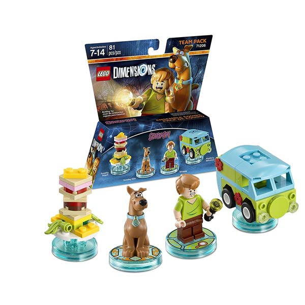 LEGO Dimensions Scooby Doo Team Pack 71206