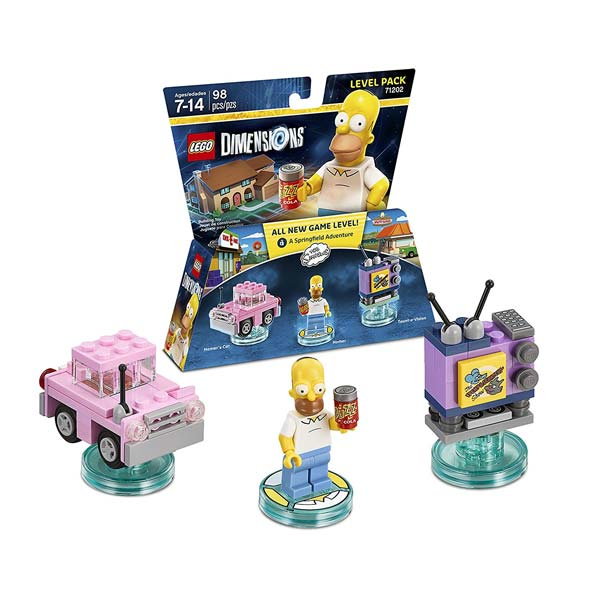 LEGO Dimensions Simpsons Level Pack 71202
