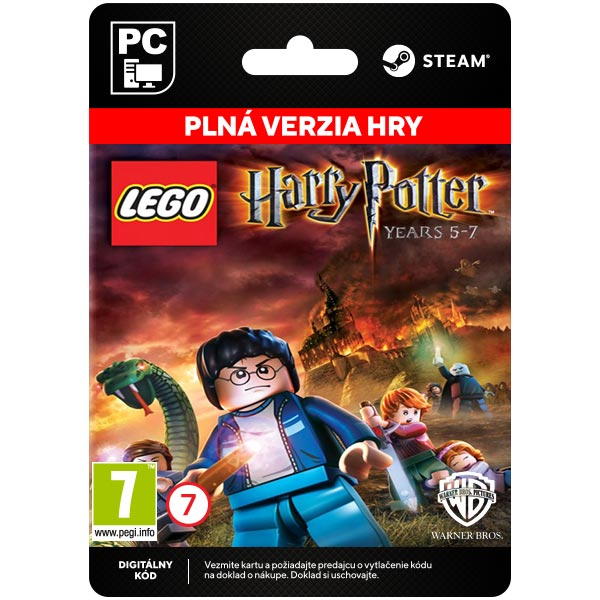 LEGO Harry Potter: Years 5-7 [Steam]