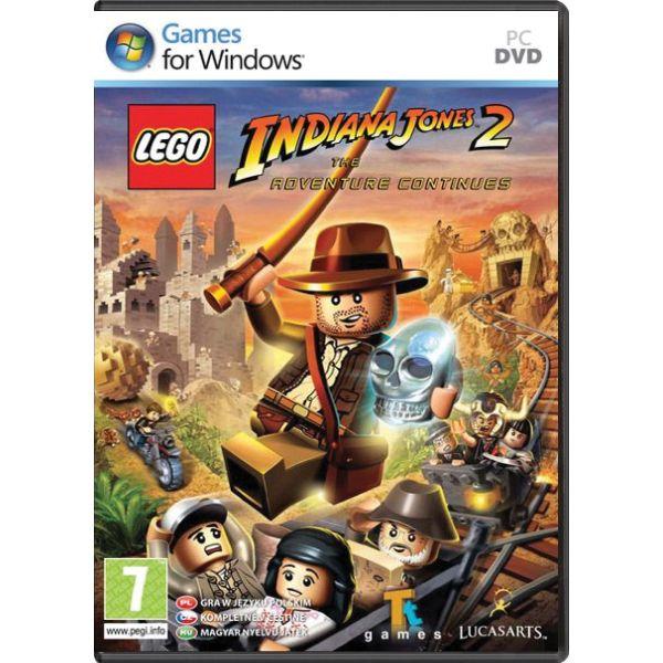 LEGO Indiana Jones 2: The Adventure Continues CZ PC