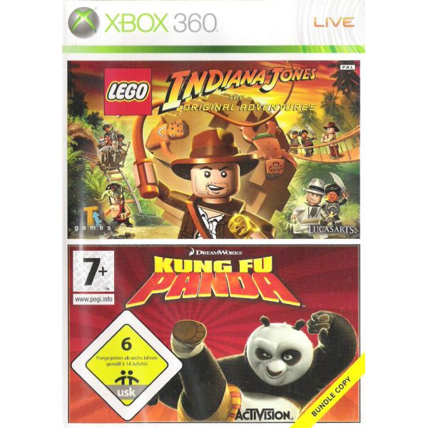 LEGO Indiana Jones: The Original Adventures + Kung Fu Panda