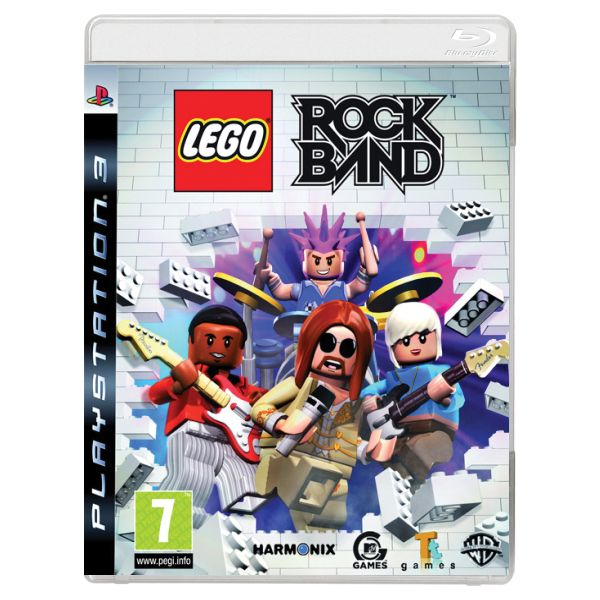 LEGO Rock Band [PS3] - BAZÁR (použitý tovar)