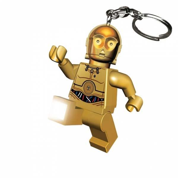 LEGO Star Wars C3PO, svietiaca figúrka