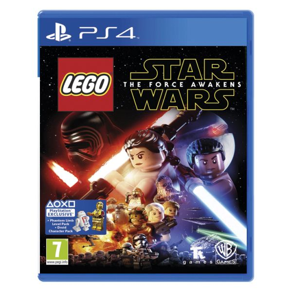 LEGO Star Wars: The Force Awakens [PS4] - BAZ�R (pou�it� tovar)