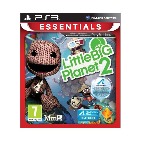 Little BIG Planet 2 [PS3] - BAZ�R (pou�it� tovar)