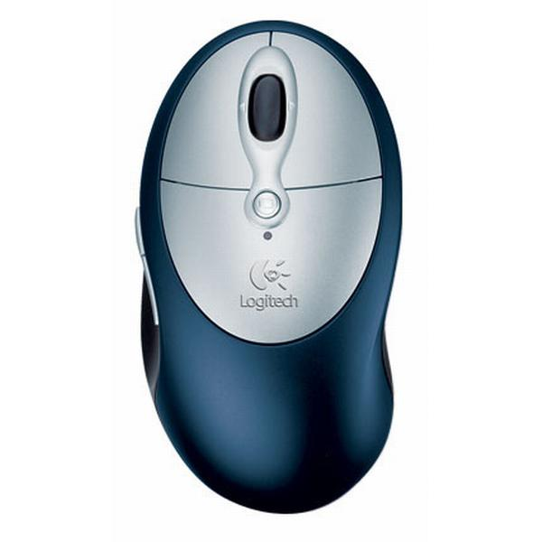 Logitech Cordless Click! Plus Rechargeable Optical Mouse