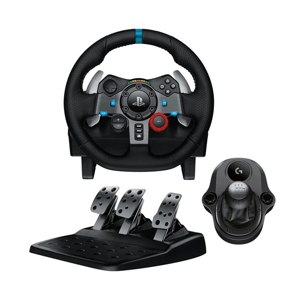 Logitech G29 Driving Force Racing Wheel + Logitech Driving Force Shifter