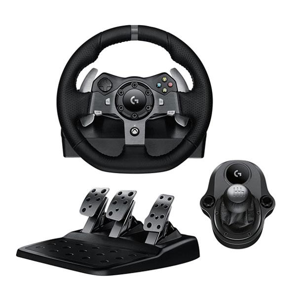 Logitech G920 Driving Force Racing Wheel + Logitech Driving Force Shifter
