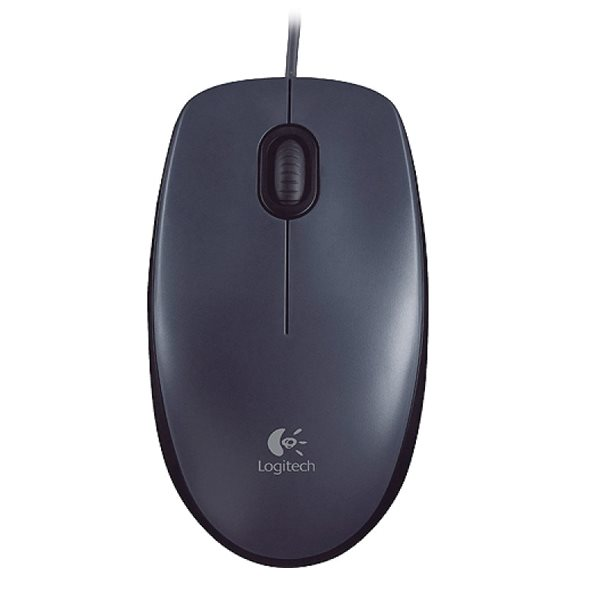 Logitech HD Optical USB Mouse M90, black