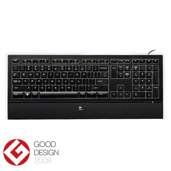 Logitech Illuminated Keyboard CZ