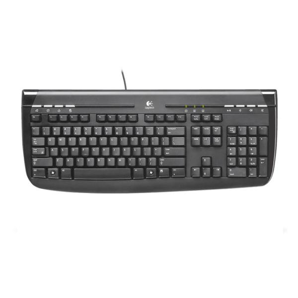 Logitech Internet 350 PS/2 Keyboard CZ OEM, black
