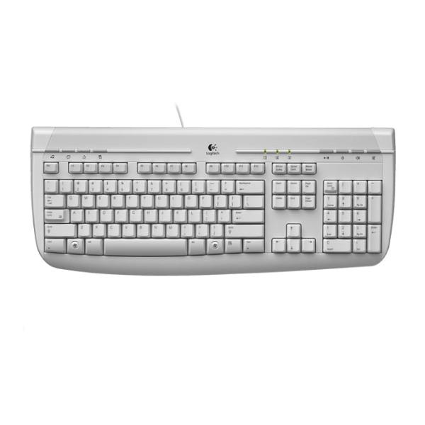 Logitech Internet 350 PS/2 Keyboard CZ OEM, white