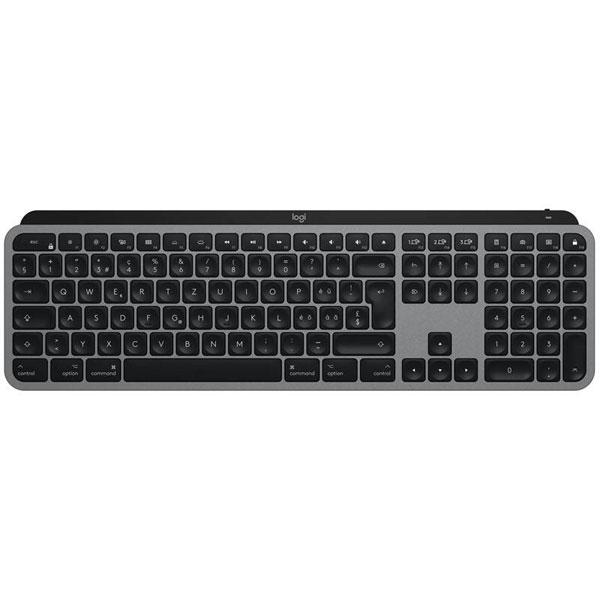 Logitech MX Keys for Mac Advanced Wireless Illuminated Keyboard, graphite UK INT'L