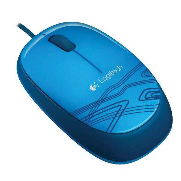 Logitech Notebook USB Mouse M105, blue