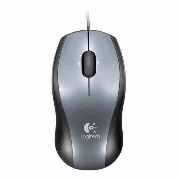Logitech V100 Optical Mouse for Notebooks, USB