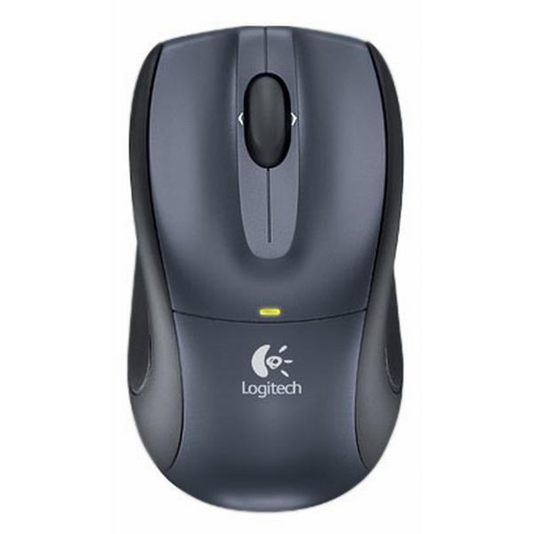 Logitech V450 Laser Cordless Mouse for Notebooks, dark