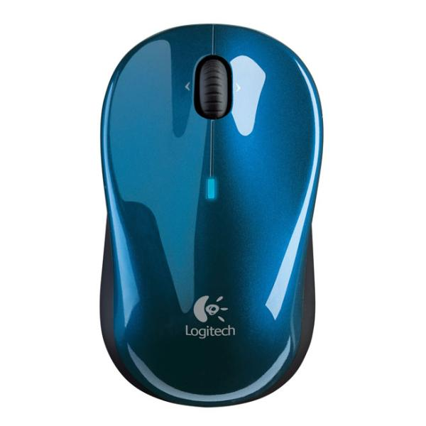 Logitech V470 Cordless Laser Mouse for Bluetooth, blue