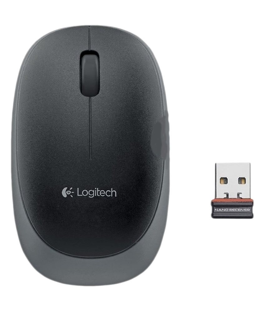 Logitech Wireless Mouse M165, black