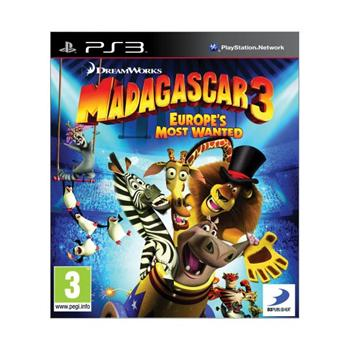 Madagascar 3: Europe�s Most Wanted [PS3] - BAZ�R (pou�it� tovar)