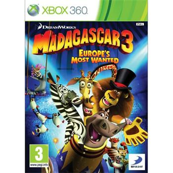 Madagascar 3: Europe�s Most Wanted [XBOX 360] - BAZ�R (pou�it� tovar)