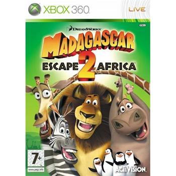 Madagascar: Escape 2 Africa [XBOX 360] - BAZÁR (použitý tovar)