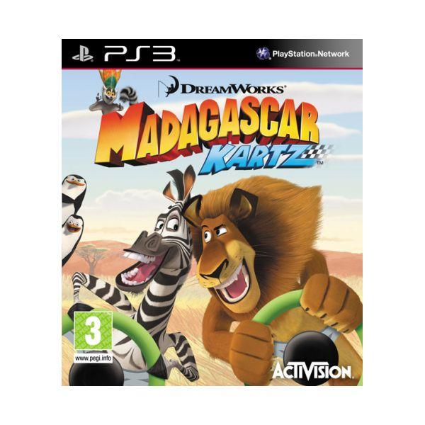 Madagascar Kartz [PS3] - BAZÁR (použitý tovar)