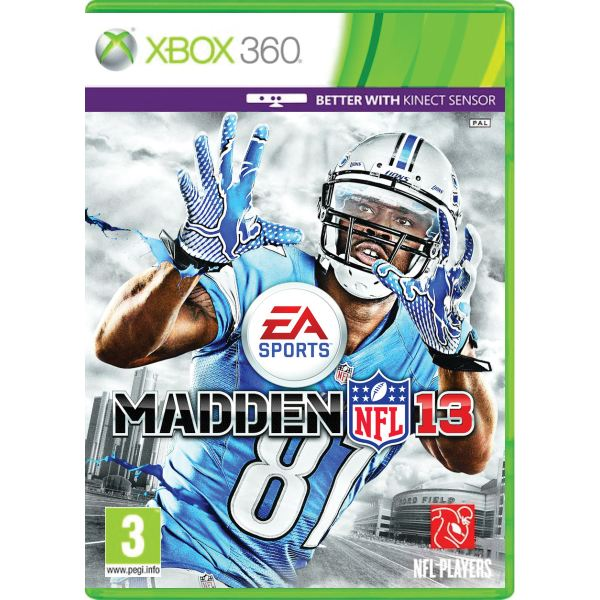Madden NFL 13 [XBOX 360] - BAZÁR (použitý tovar)