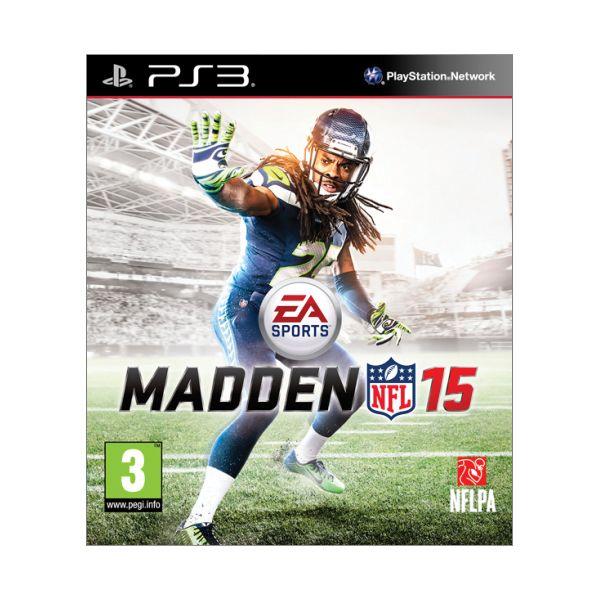 Madden NFL 15 [PS3] - BAZÁR (použitý tovar)
