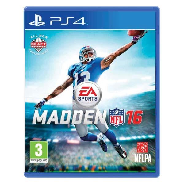 Madden NFL 16 [PS4] - BAZÁR (použitý tovar)
