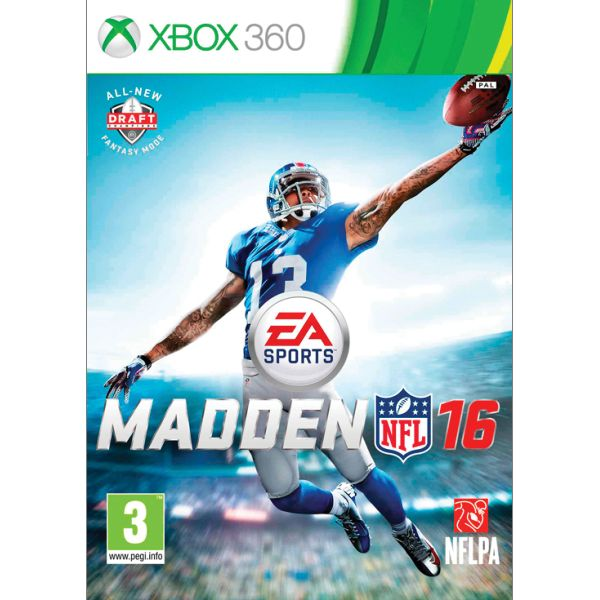 Madden NFL 16 [XBOX 360] - BAZÁR (použitý tovar)