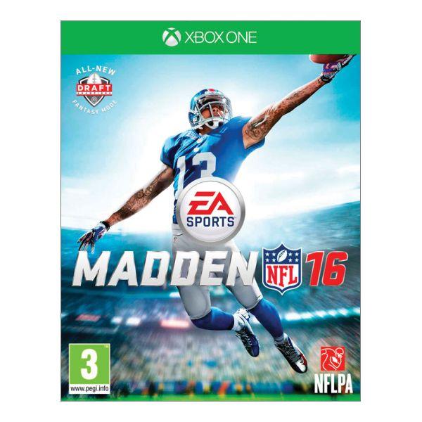 Madden NFL 16 [XBOX ONE] - BAZÁR (použitý tovar)