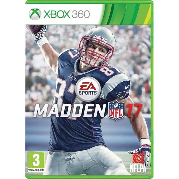 Madden NFL 17 [XBOX 360] - BAZÁR (použitý tovar)