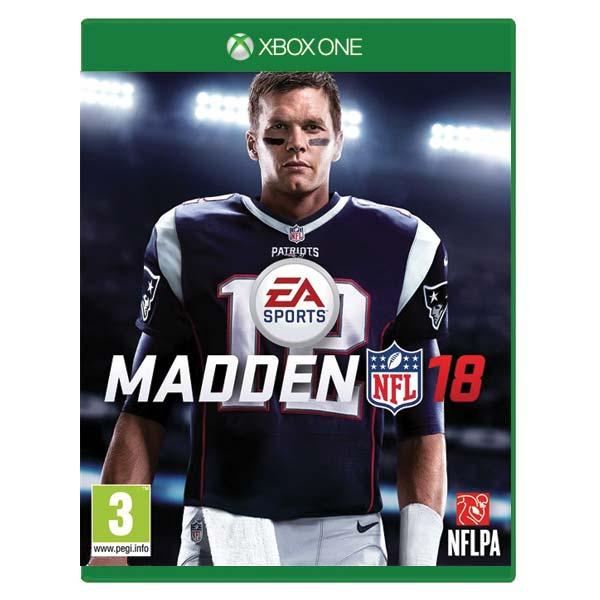 Madden NFL 18 [XBOX ONE] - BAZÁR (použitý tovar)