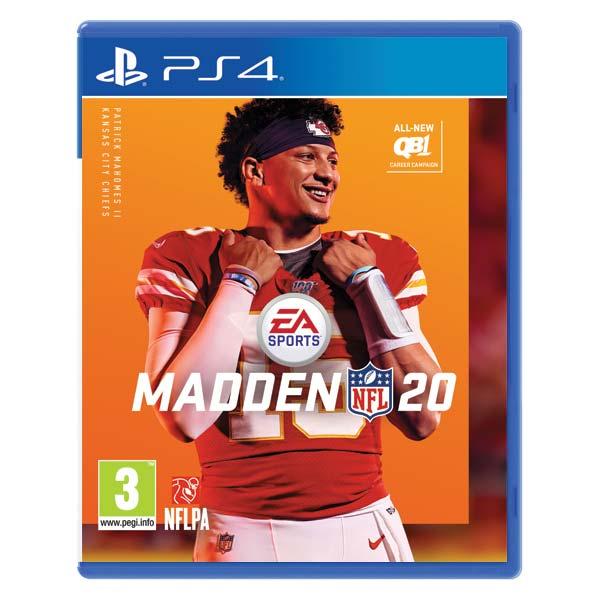 Madden NFL 20 [PS4] - BAZÁR (použitý tovar)