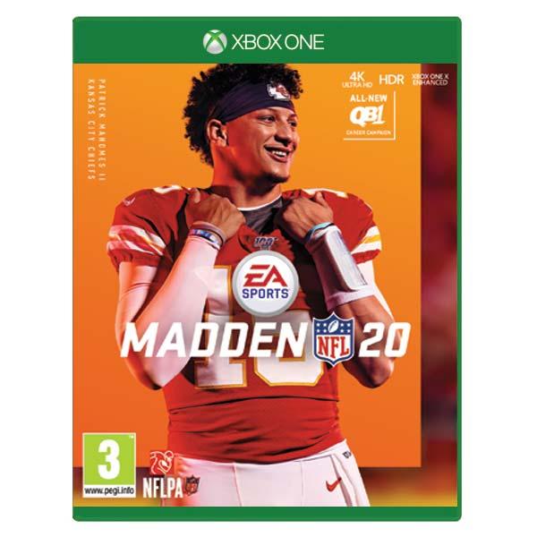 Madden NFL 20 [XBOX ONE] - BAZÁR (použitý tovar)