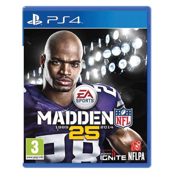 Madden NFL 25 [PS4] - BAZÁR (použitý tovar)