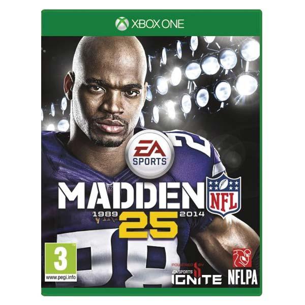 Madden NFL 25 [XBOX ONE] - BAZÁR (použitý tovar)