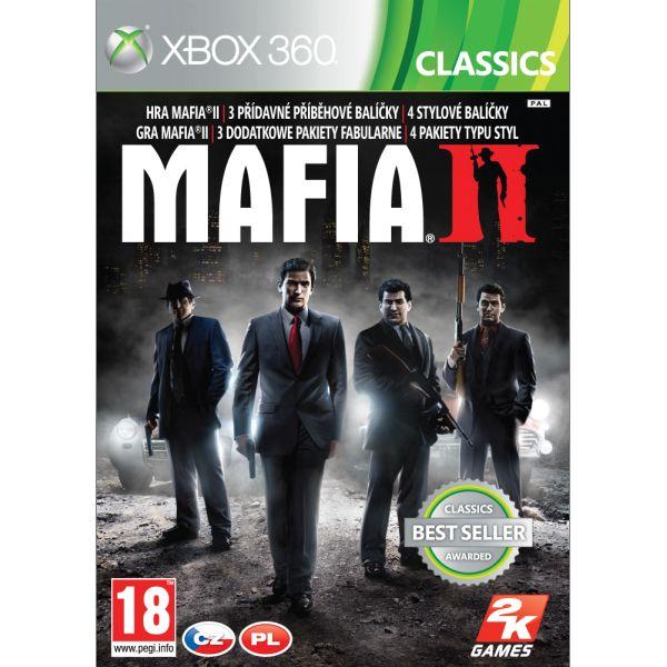 Mafia 2 CZ - XBOX 360- BAZÁR (použitý tovar)