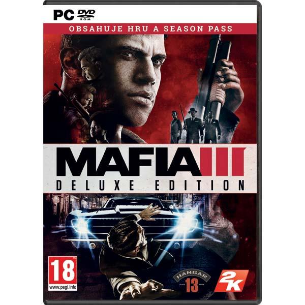 Mafia 3 CZ (Deluxe Edition) + DLC Rodinný úplatok