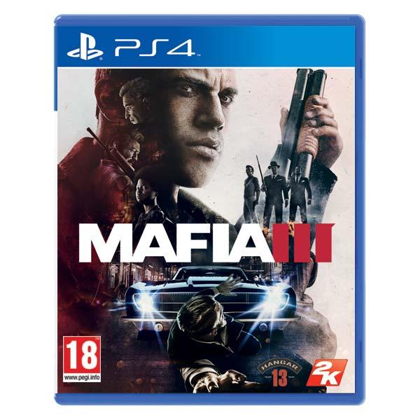 Mafia 3 CZ [PS4] - BAZÁR (použitý tovar)