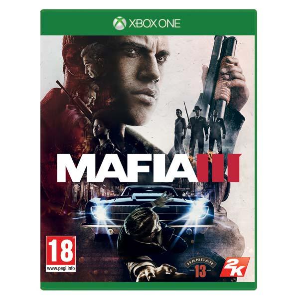 Mafia 3 CZ [XBOX ONE] - BAZÁR (použitý tovar)