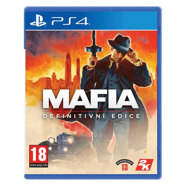 Mafia CZ (Definitive Edition) [PS4] - BAZÁR (použitý tovar)