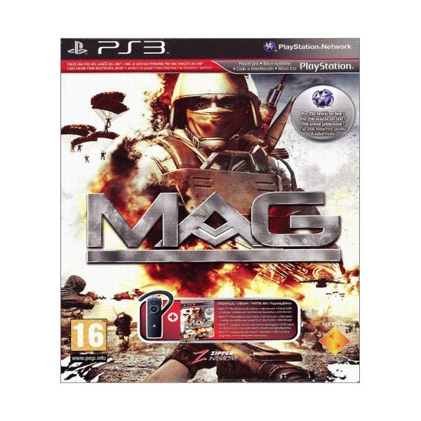 MAG + Sony Wireless Bluetooth Headset PS3