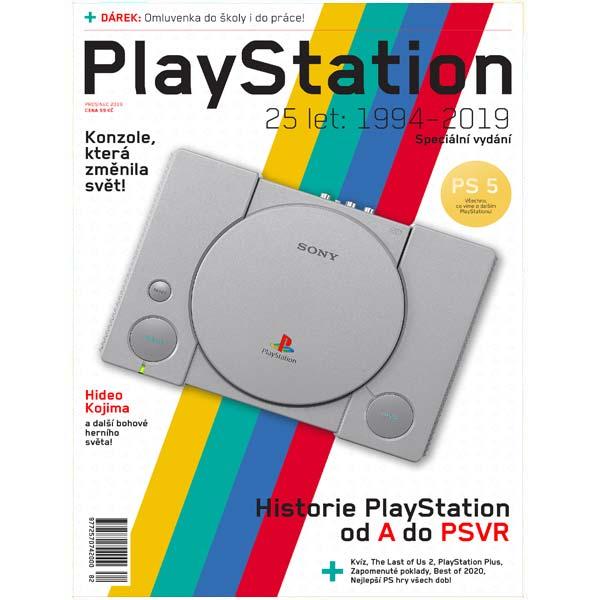Magazín PlayStation 2019 + darček