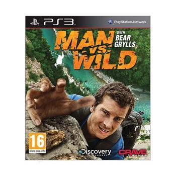 Man vs. Wild [PS3] - BAZÁR (použitý tovar)