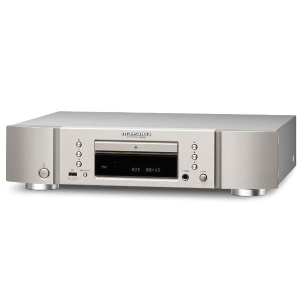 Marantz CD6006 CD Player, silver gold