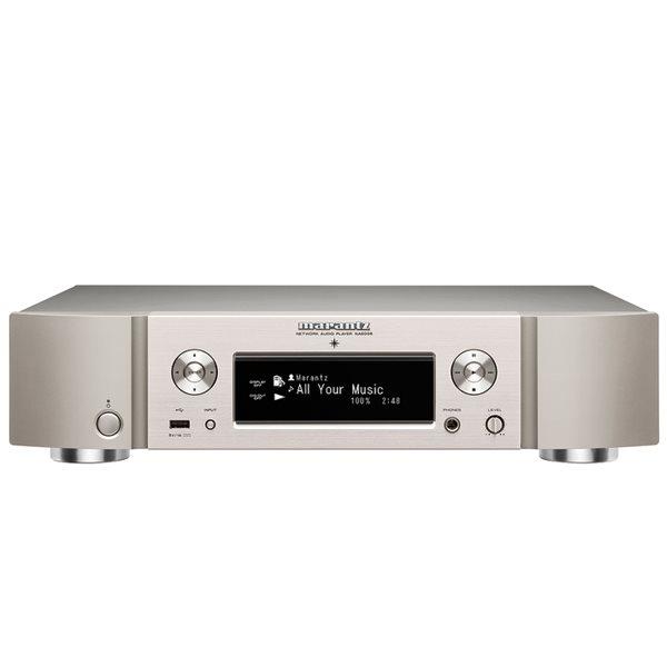 Marantz NA6005, sie�ov� prehr�va� hudby, Silver Gold